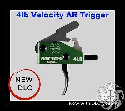 VELOCITY 4LB drop-in competition trigger with ANTI-WALK PINS