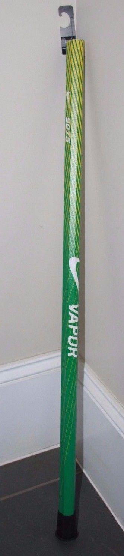 NEW NIKE VAPOR 9075 Lacrosse Stick Shaft Handle $90 green yellow