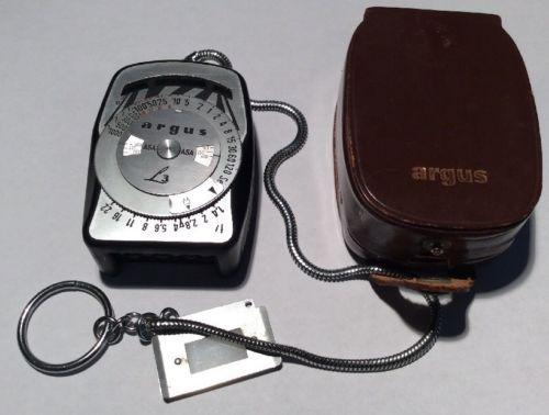 Vintage ARGUS Light Meter