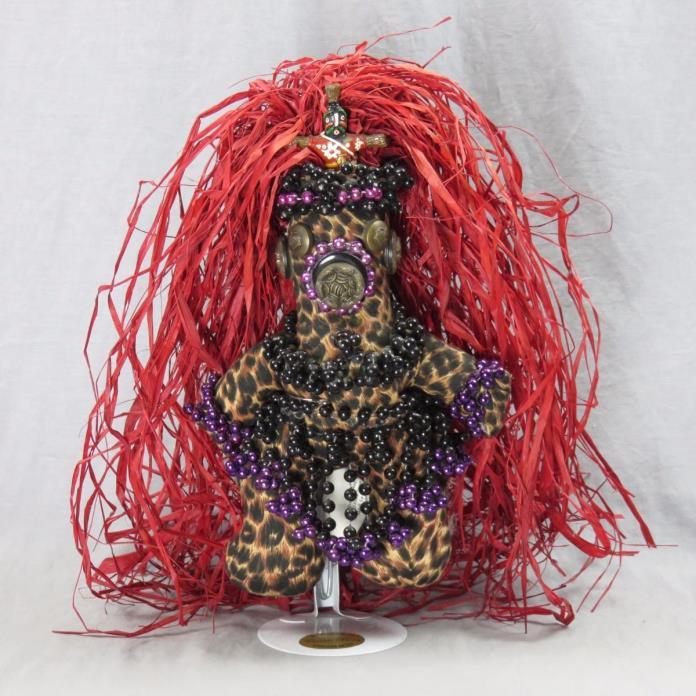 Original Mardi Gras MisChief Doll Tribal Voodoo Queen Artwork Connie Born 1999