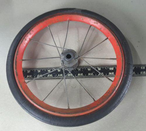 Vintage 30s 40s lines bros. tricycle wheel 1.00 x .75 x 12