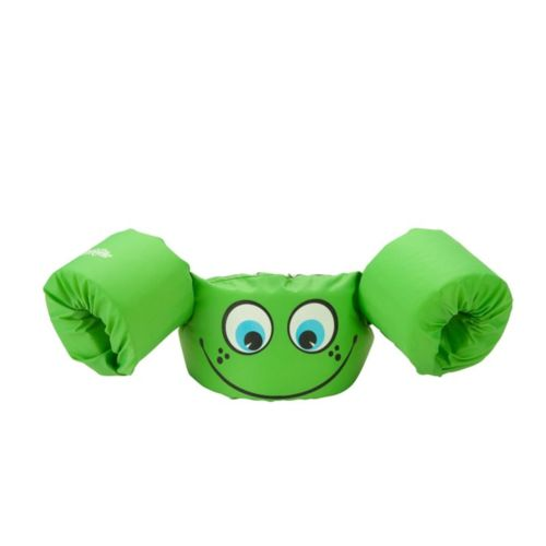 Kids Inflatable Life Jacket Puddle Jumper Coast Guard Approved Green Smile
