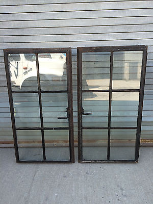 Architetural Salvage FIFTY Steel / Iron Casement Window Sashes Industrial 6 pane