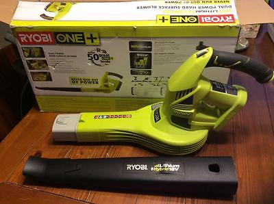 Ryobi P2170 ONE+150 mph 200 CFM 18V Lithium-Ion Cordless/Corded Blower Tool only