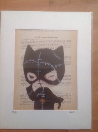 Cat woman Limited Edition Print By Dianne Romero - Nomiie 69/100