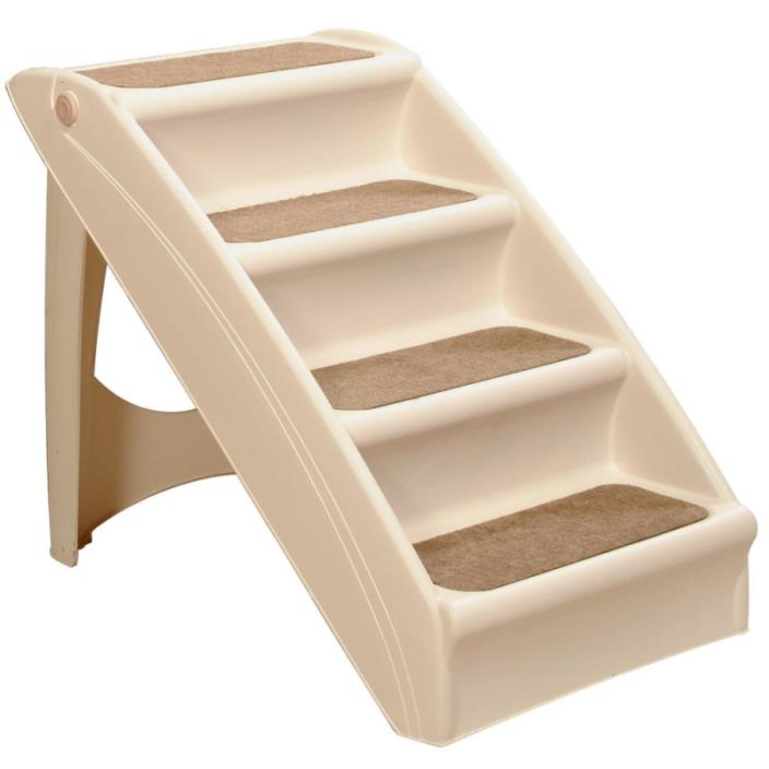 Dog Steps Folding Pet Stairs Portable Great for Dogs Stairs Tall High Bed Car..