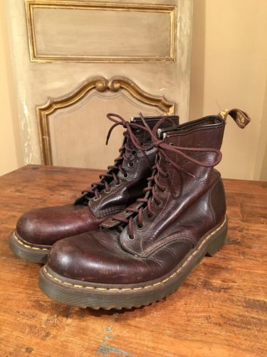 VTG Men's Dr Martens Chukka Engineering Motorcycle Ankle Work Boots Size 11
