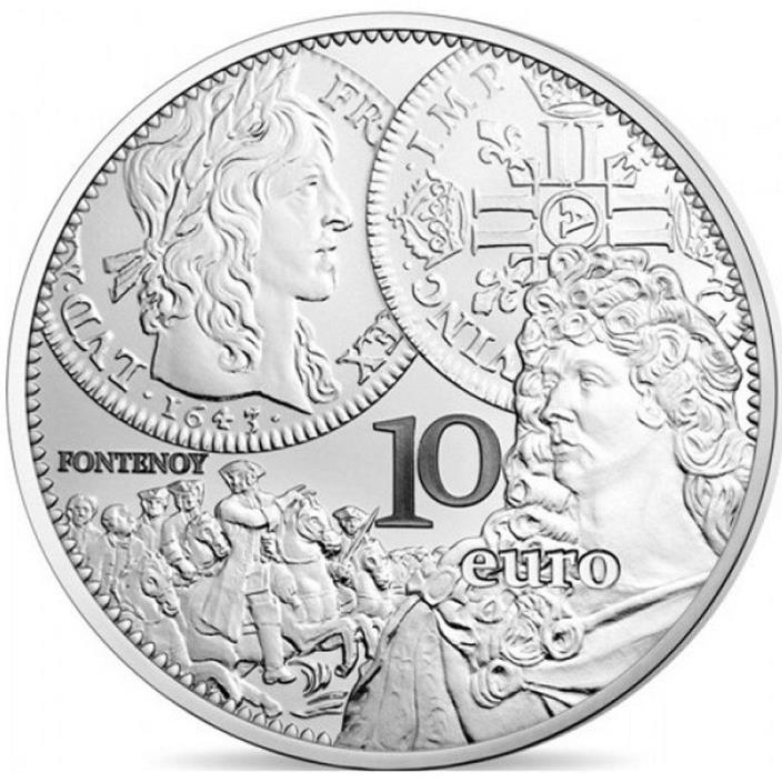 2017 France 10 Euro Silver Proof Coin