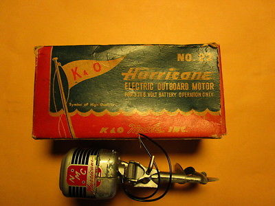 K&O Hurricane Toy Outboard Motor Boat