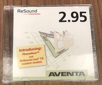 Resound Aventa 2.95 Hearing Aid Fitting Programming Software