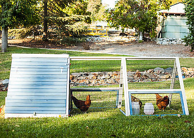 Advantek The A-Frame Chicken Coop with Roosting Bar