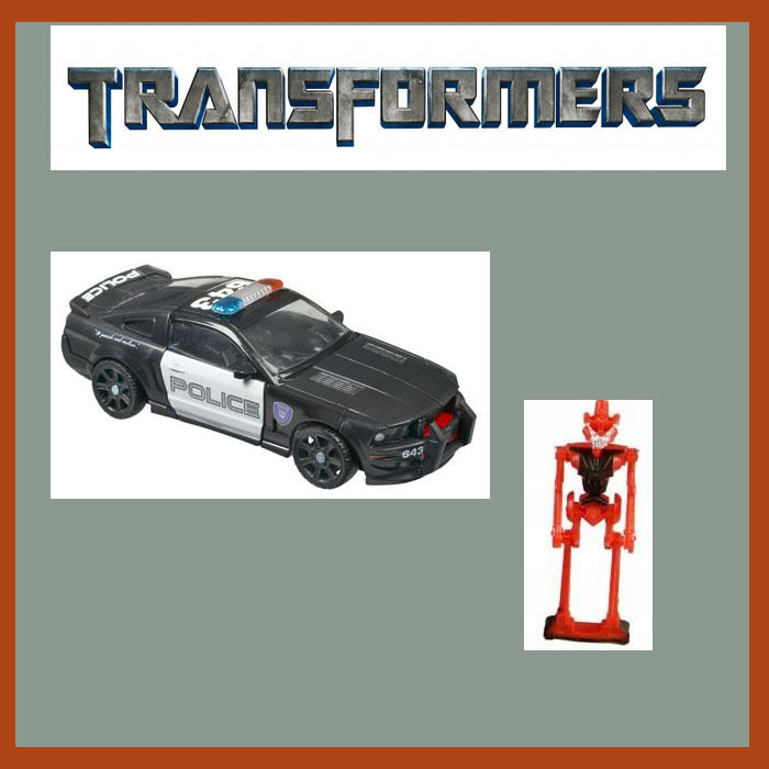 Transformers Movie 2007 Deluxe Class Barricade Target Exclusive MISB NEW