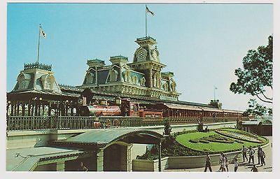 Classic Postcard Walt Disney World - Steam Railroad