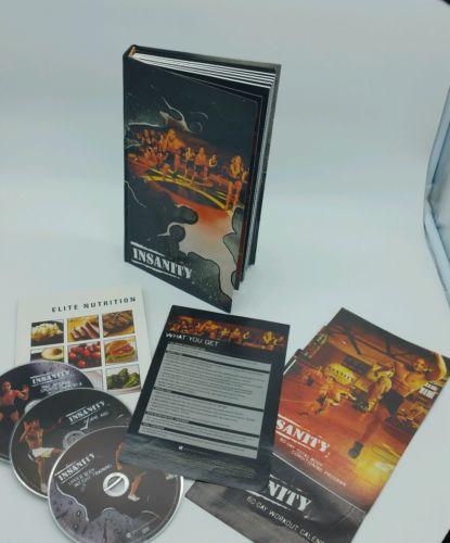 INSANITY 60-Day 10 DVD Complete Workout + 3 Bonus DVD's Beachbody - Dig Deeper