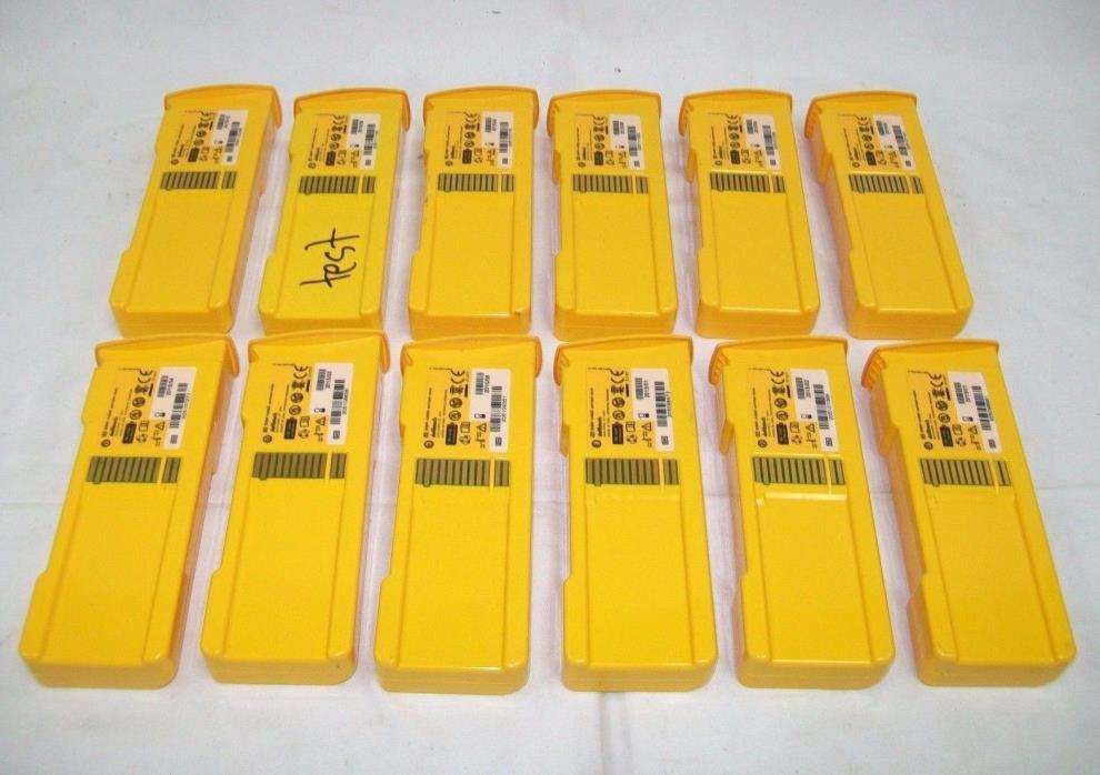 LOT OF 12 Defibtech DBP-1400 Battery Pack (2015)