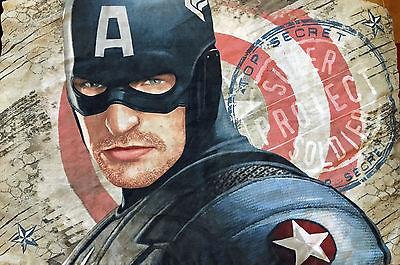 Captain America Marvel Comics Twin Single Bedding Set