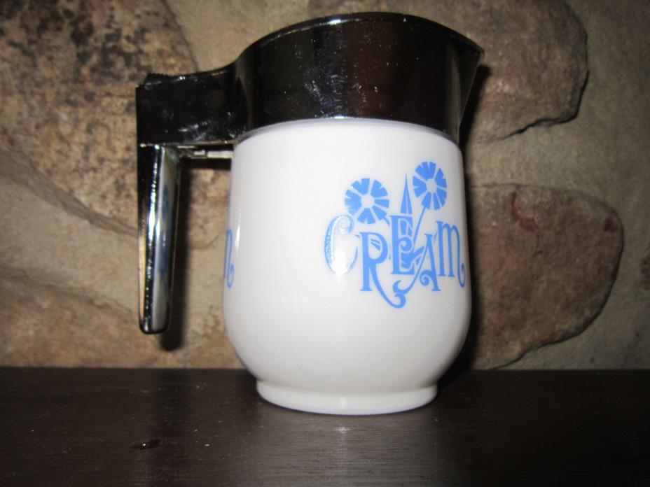 Gemco USA Milk Glass Cream Pitcher