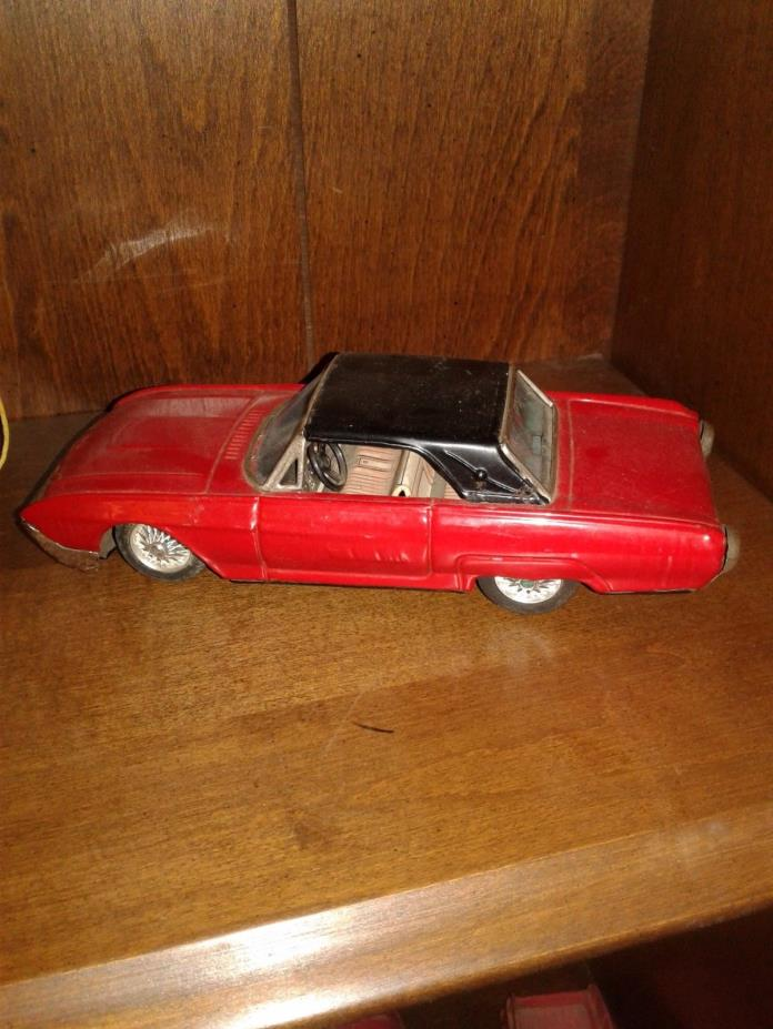 rare N.K. toys 1960s friction ford thunderbird