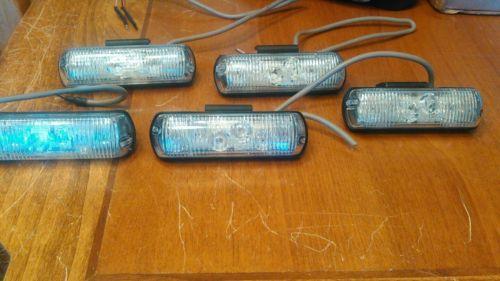 Sound Off Signal Dash/Deck/Grill LED strobe light Blue