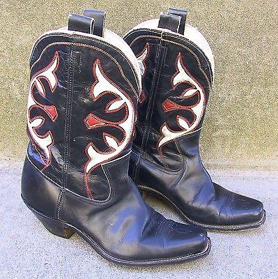 Vintage Cowboy Western Boots