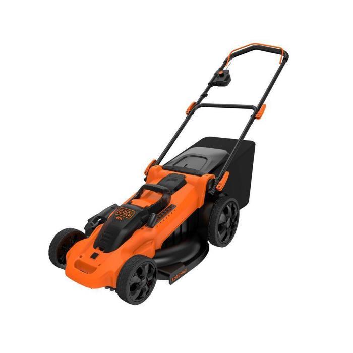 BLACK+DECKER 20 in. 40-Volt Max Lithium-Ion Cordless Electric Push Lawn Mower