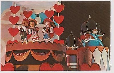 Classic Postcard Walt Disney World - It's A Small World
