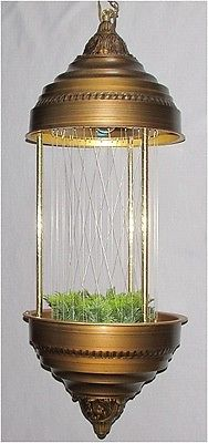 Vintage Creators Oil Rain Motion Hanging Swag Lamp