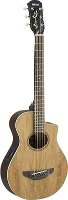 Yamaha APXT2EW NA Natural 3/4 Size APX Thinline Acoustic Electric Cutaway Guitar