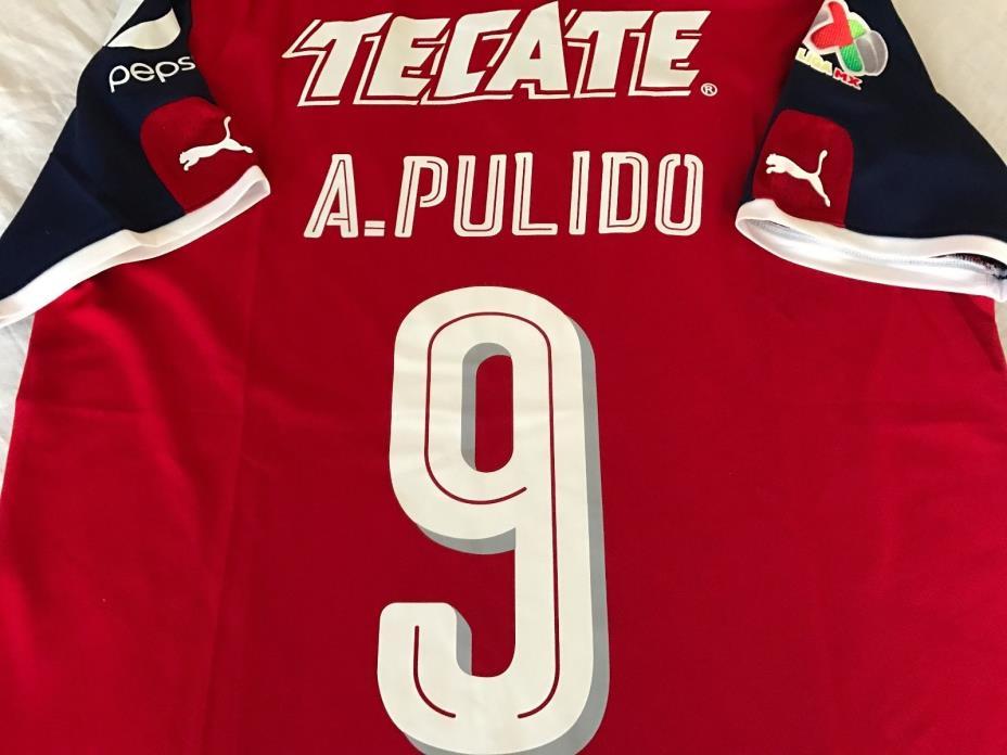 Chivas de Guadalajara Mexico Alan Pulido  OFFICIAL jersey SIZE M,L or XL