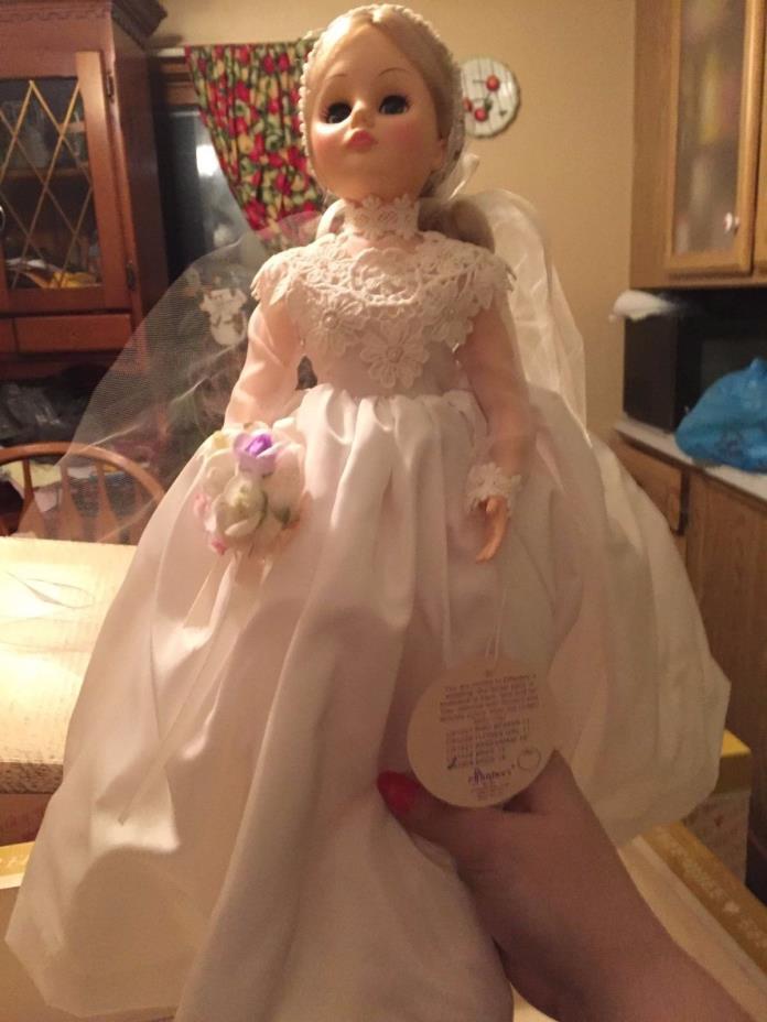 Effanbee bride 18 doll