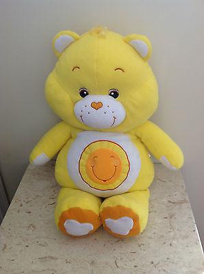 CARE BEARS Sunshine Bear Pillow Pal ~ LARGE / GIANT 26