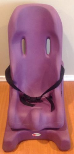 SPECIAL TOMATO SOFT TOUCH SITTER PURPLE SIZE 2 WITH BASE