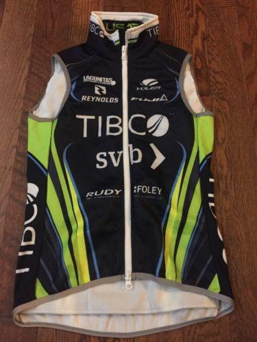 TIBCO Elite Women's Cycling Team Cold Weather Voler Vest - XS