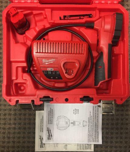 Milwaukee 2313-21 M12 Redlithium M-Spector 360 Rotating Inspection Scope Kit