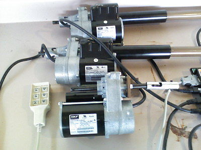 3 actuators, 1 control box and remote for invacare electic bed