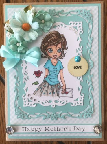 Happy Mother's Day Handmade Greeting Card