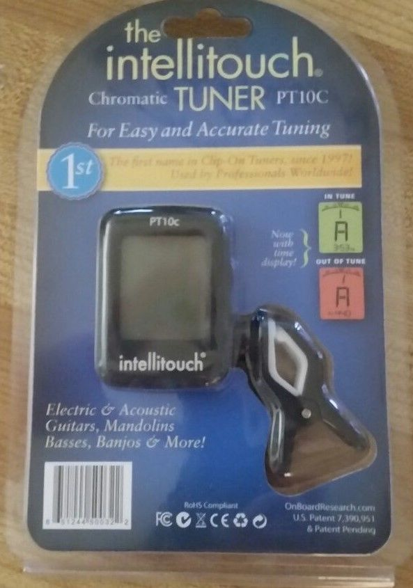 Intellitouch Chromatic Tuner PT10C. New in box    (70)