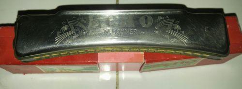 Vintage Echo M. Hohner Harmonica