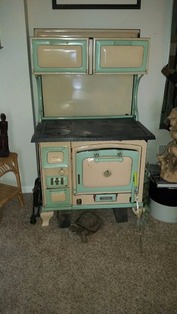 The Majestic Antique Wood Cook Stove