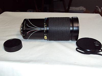 Vintage Tokina SZ-X 28-200mm 1:3.5-5.3 72mm Camera Lens From Pentax K 1000