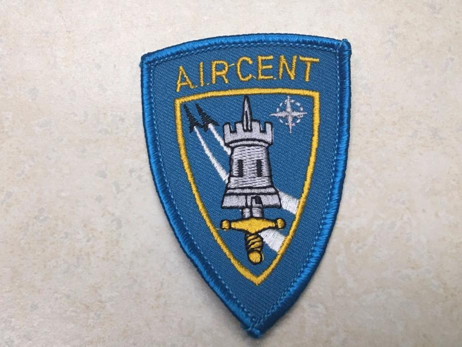 Defunct AIRCENT Allied Air Forces Central Europe NATO Patch Ramstein Command GE