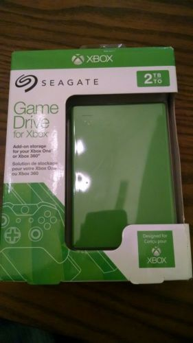 seagate xbox 360/ xbox one  game drive (srdonf1) USB 3.0 2tb