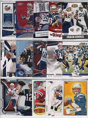 TOM BRADY 15 Card 4 Insert Football Lot NFL NEW ENGLAND PATRIOTS Michigan