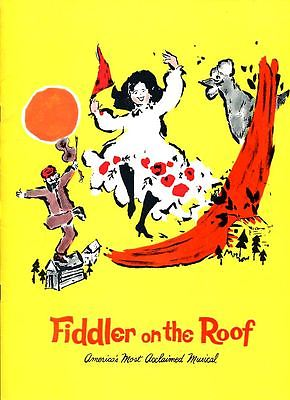 3 1960s Souvenir Programs - Cabaret, Fiddler, La Mancha