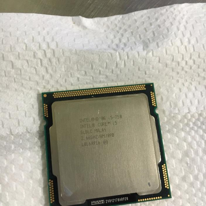 INTEL  i5-750 2.66 DC SLBLC  8M