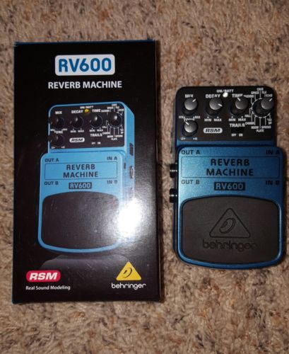 Behringer RV600 Reverb Guitar Effect Pedal