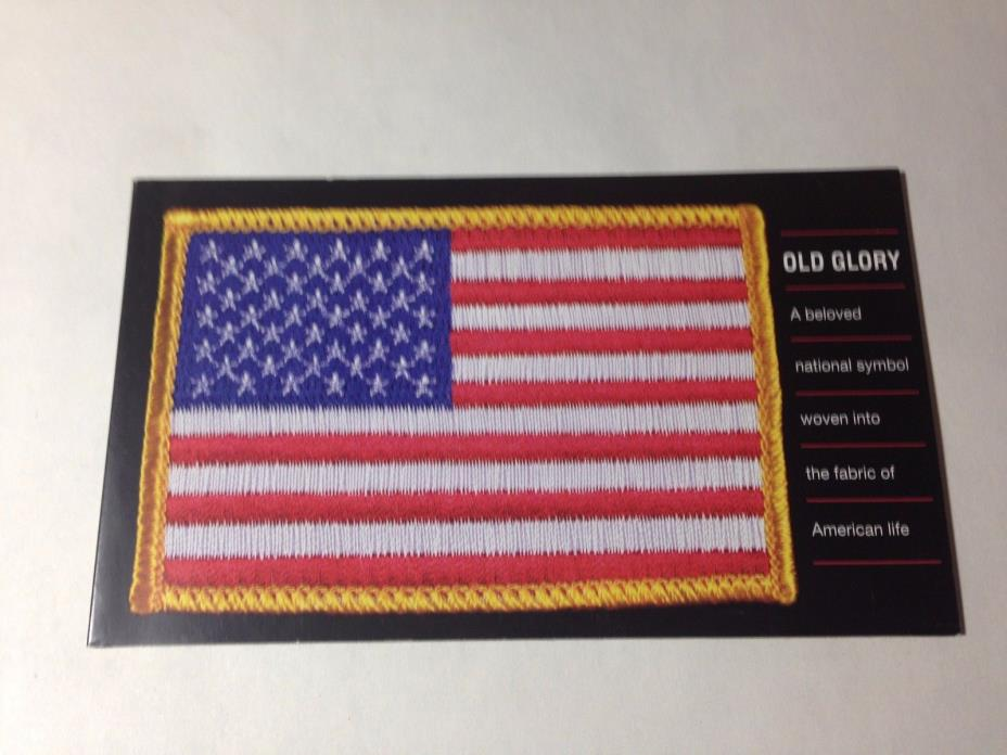 OLD GLORY, commemorative booklet,twenty .37cent  stamps SC 3776-80  M1