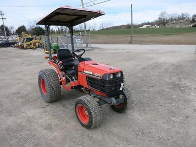 Kubota B7500 Compact Tractor, 555 Hours, 21 HP Diesel, 4x4, Power Steering, 3 Pt