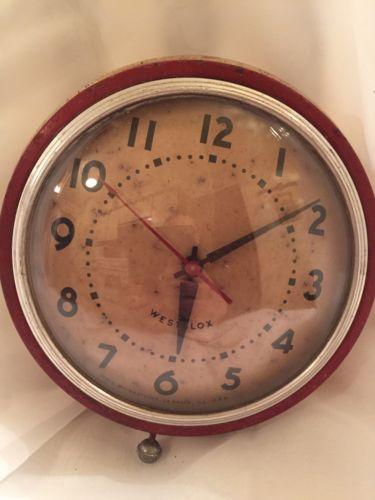Mid Century Westex Wall Clock