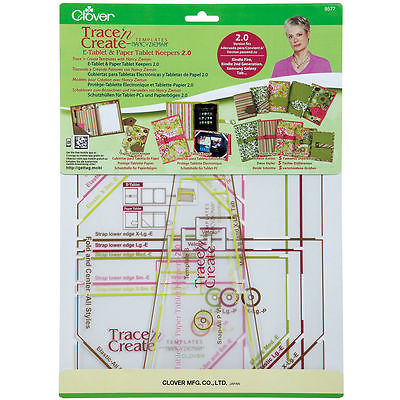 CLOVER TRACE N CREATE E-TABLET & TABLET KEEPERS TEMPLATE WITH NANCY ZIEMAN